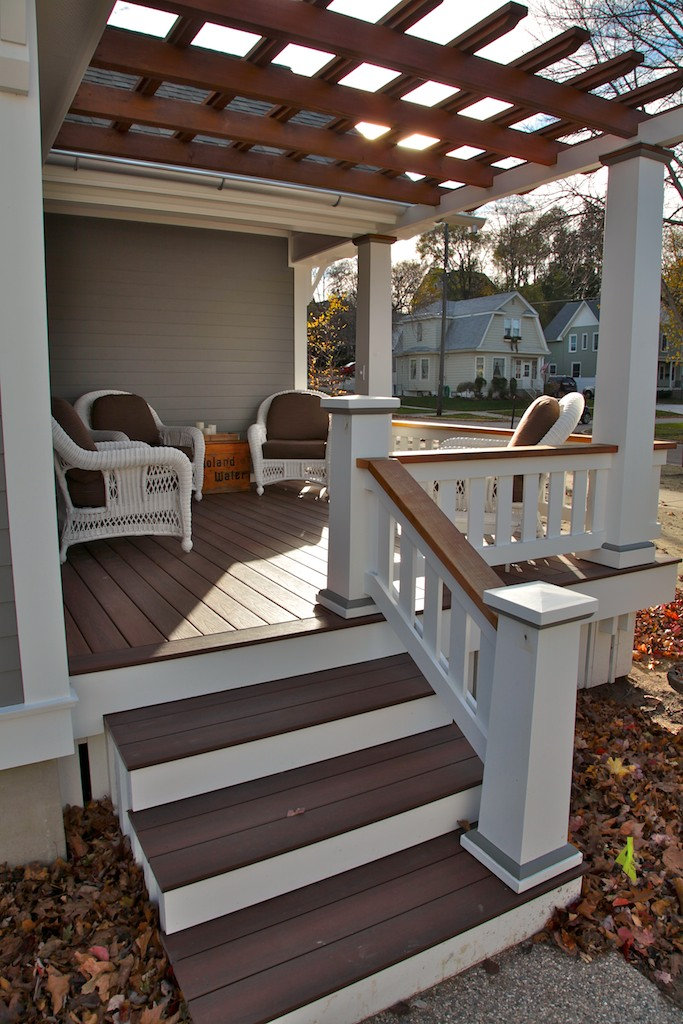 Composite decking remodel